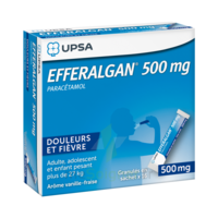 Efferalgan 500 Mg Glé En Sachet Sach/16 à TOULOUSE