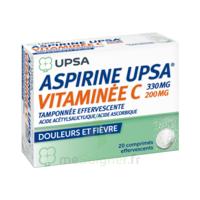 ASPIRINE UPSA VITAMINEE C TAMPONNEE EFFERVESCENTE, comprimé effervescent à TOULOUSE