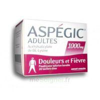ASPEGIC ADULTES 1000 mg, poudre pour solution buvable en sachet-dose 20 à TOULOUSE