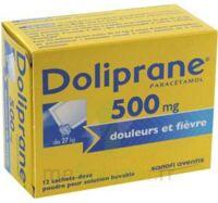 Doliprane 500 Mg Poudre Pour Solution Buvable En Sachet-dose B/12 à TOULOUSE