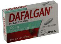 DAFALGAN 300 mg Suppositoires Plq/10 à TOULOUSE