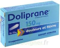 DOLIPRANE 150 mg Suppositoires 2Plq/5 (10) à TOULOUSE