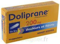DOLIPRANE 200 mg Suppositoires 2Plq/5 (10) à TOULOUSE