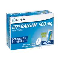 EFFERALGAN 500 mg, comprimé orodispersible à TOULOUSE