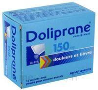 Doliprane 150 Mg Poudre Pour Solution Buvable En Sachet-dose B/12 à TOULOUSE