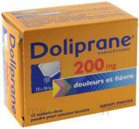 DOLIPRANE 200 mg Poudre pour solution buvable en sachet-dose B/12 à TOULOUSE