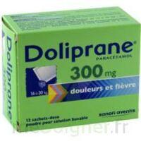 Doliprane 300 Mg Poudre Pour Solution Buvable En Sachet-dose B/12 à TOULOUSE
