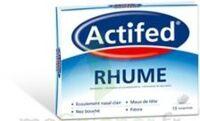 ACTIFED RHUME, comprimé à TOULOUSE