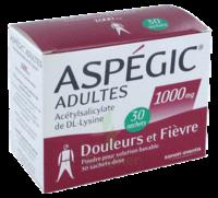 ASPEGIC ADULTES 1000 mg, poudre pour solution buvable en sachet-dose 30 à TOULOUSE