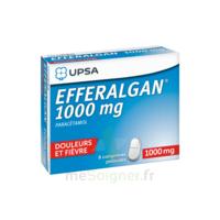 Efferalgan 1000 mg Comprimés pelliculés Plq/8 à TOULOUSE