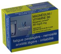 MAGNESIUM/VITAMINE B6 BIOGARAN CONSEIL 48 mg/5 mg, comprimé pelliculé à TOULOUSE