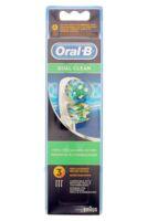 Brossette De Rechange Oral-b Dual Clean X 3 à TOULOUSE