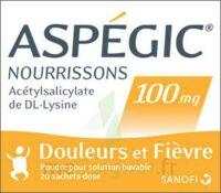 ASPEGIC NOURRISSONS 100 mg, poudre pour solution buvable en sachet-dose à TOULOUSE