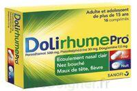 DOLIRHUMEPRO PARACETAMOL, PSEUDOEPHEDRINE ET DOXYLAMINE, comprimé à TOULOUSE