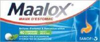 Maalox Hydroxyde D'aluminium/hydroxyde De Magnesium 400 Mg/400 Mg Cpr à Croquer Maux D'estomac Plq/40 à TOULOUSE