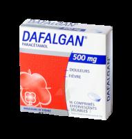 DAFALGAN 500 mg Comprimés effervescents sécables Film/16 à TOULOUSE