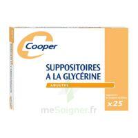 SUPPOSITOIRES A LA GLYCERINE COOPER Suppos en récipient multidose adulte Sach/25 à TOULOUSE