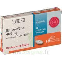 IBUPROFENE TEVA CONSEIL 400 mg, comprimé pelliculé à TOULOUSE