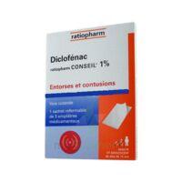 DICLOFENAC RATIOPHARM CONSEIL 1 %, emplâtre médicamenteux à TOULOUSE