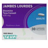 DIOSMINE TEVA CONSEIL 600 mg, comprimé pelliculé à TOULOUSE