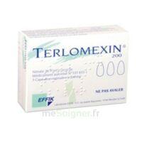 TERLOMEXIN 200 mg, capsule molle vaginale à TOULOUSE