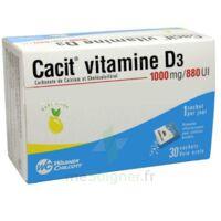 CACIT VITAMINE D3 1000 mg/880 UI, granulés effervescents 90Sach/8g à TOULOUSE