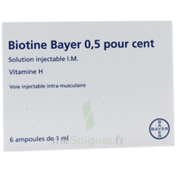 BIOTINE BAYER 0,5 POUR CENT, solution injectable I.M. à TOULOUSE