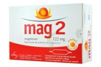 MAG 2 SANS SUCRE 122 mg, solution buvable en ampoule édulcoré à la saccharine sodique à TOULOUSE