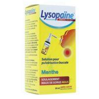 LysopaÏne Ambroxol 17,86 Mg/ml Solution Pour Pulvérisation Buccale Maux De Gorge Sans Sucre Menthe Fl/20ml à TOULOUSE