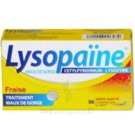 LYSOPAÏNE MAUX DE GORGE CETYLPYRIDINIUM LYSOZYME FRAISE SANS SUCRE, comprimé à sucer édulcoré au sorbitol et à la saccharine à TOULOUSE