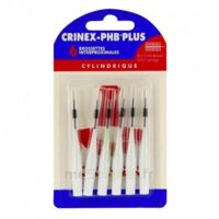 Crinex Phb Plus Brossette Inter-dentaire Cylindrique B/6 à TOULOUSE