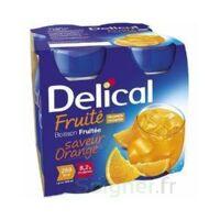 Delical Boisson Fruitee Nutriment Orange 4bouteilles/200ml à TOULOUSE