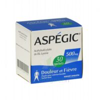 ASPEGIC 500 mg, poudre pour solution buvable en sachet-dose 30 à TOULOUSE