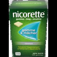 NICORETTE 2 mg Gom à mâcher médic sans sucre menthe fraîche Plq/105gom à TOULOUSE