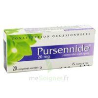 PURSENNIDE 20 mg, comprimé enrobé à TOULOUSE