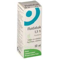 FLUIDABAK 1,5 %, collyre en solution à TOULOUSE