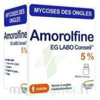 AMOROLFINE EG LABO CONSEIL 5 %, vernis à ongles médicamenteux à TOULOUSE