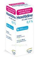 HEXETIDINE EG LABO CONSEIL 0,1 %, solution pour bain de bouche 200ml à TOULOUSE