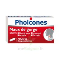 PHOLCONES BISMUTH ADULTES, suppositoire à TOULOUSE