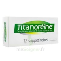 TITANOREINE Suppositoires B/12 à TOULOUSE
