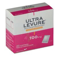ULTRA-LEVURE 100 mg Poudre pour suspension buvable en sachet B/20 à TOULOUSE