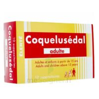COQUELUSEDAL ADULTES, suppositoire à TOULOUSE