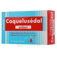 COQUELUSEDAL ENFANTS, suppositoire à TOULOUSE