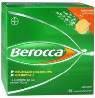 Berocca Comprimés effervescents sans sucre T/60 à TOULOUSE