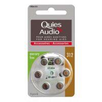 Quies Audio Pile auditive modèle 312 Plq/6 à TOULOUSE