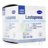 Lastopress® Bande De Compression Cohésive 7 Cm X 3 Mètres - Coloris Blanc à TOULOUSE