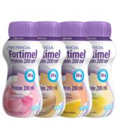 Fortimel Protein Nutriment multi saveurs caramel/vanille/fraise/mangue 4 Bouteilles/200ml à TOULOUSE