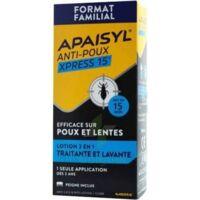 Apaisyl Anti-poux Xpress 15' Lotion antipoux et lente 100ml+peigne à TOULOUSE