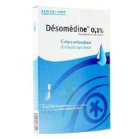 DESOMEDINE 0,1 % Collyre sol 10Fl/0,6ml à TOULOUSE