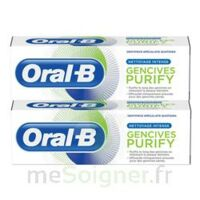 Oral B Gencives Purify Dentifrice 2*T/75ml à TOULOUSE